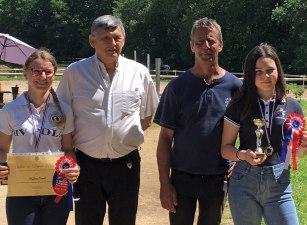Des championnes d'Aquitaine félicitées par le Maire
