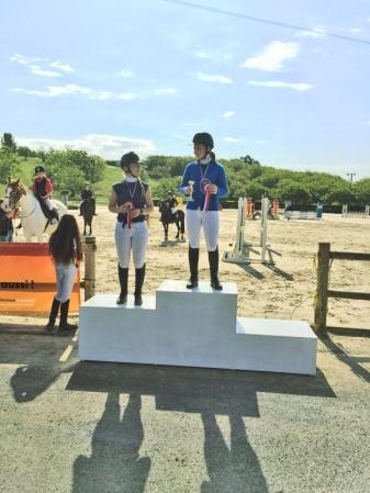 Maeva et Stéphanie Championnes d'Aquitaine 2018